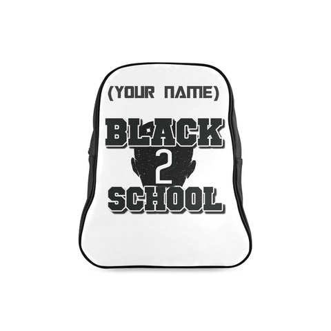 BLACK TO SCHOOL BOY BAG