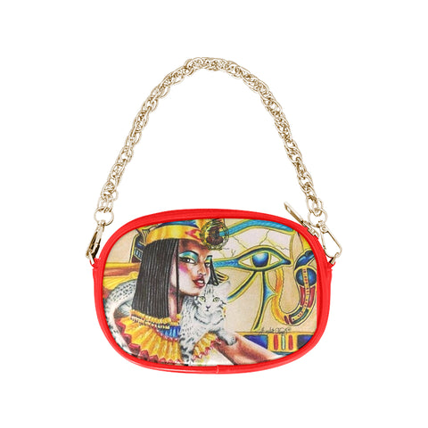 ANCIENT EGYPTIAN CHAIN PURSE