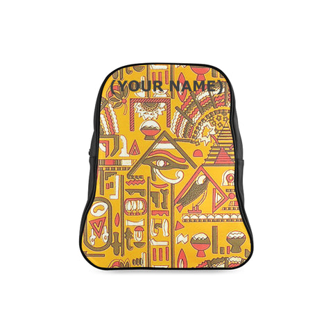 MICHAEL PHARAOH KEMETIC DREAM BLACK TO SCHOOL BOOK BAG
