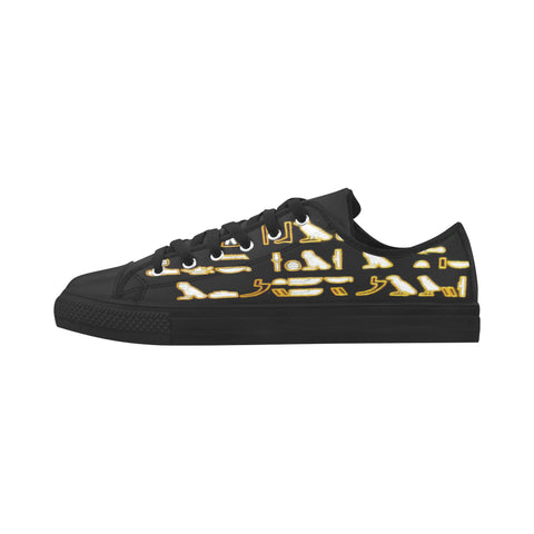 LOW TOP ACTIONS HIEROGLYPHIC DIMENSIONS (HD) #1 LIMITED EDITIONS MEN'S