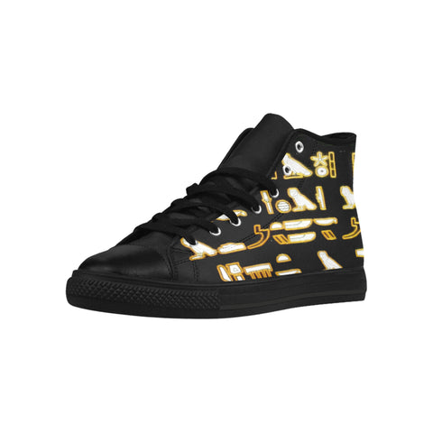 WOMEN HIGH TOP ACTIONS HIEROGLYPHIC DIMENSIONS (HD) #1 LIMITED EDITIONS WOMENS