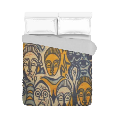 MICHAEL PHARAOH DASHIKI SILK BED SPREAD