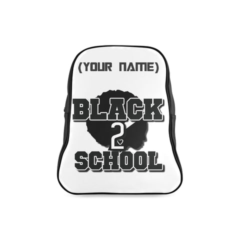 BLACK TO SCHOOL GIRL BOOK BAG