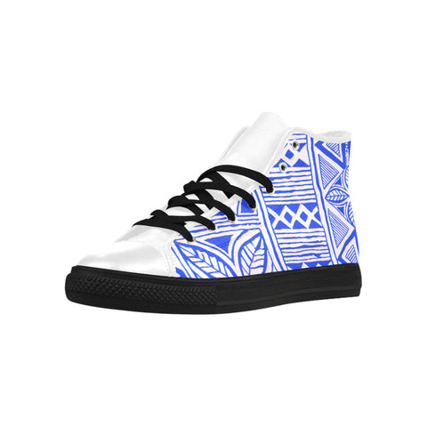 BLUE PILL EDITION HIGH TOPS  #1 FOR WOMEN