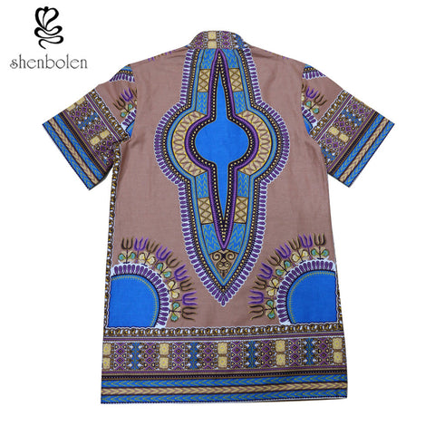 Africa Clothing summer fashion women dresses African dashiki batik prints African men's tops lady Couples dress plus size
