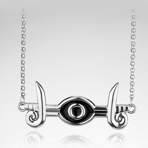 Pyramid Egyptian Eye Of Horus Millennium eye Necklace Gift