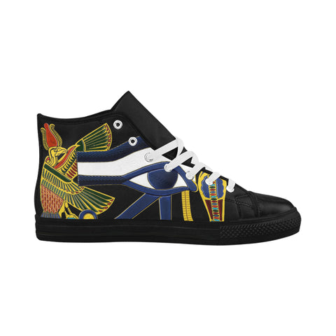 EYE OF HERU HIGH TOPS  #1 FOR WOMEN