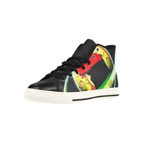 High Top Action Men's Shoes African Space Edition
