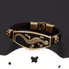 Image of FREE Classic Animal Lizard Leather Charm Bracelet & Bangles Alloy Easy Hook