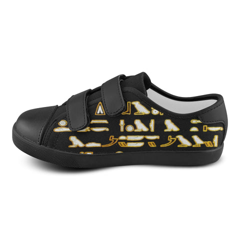 LOW TOP STRAPS HIEROGLYPHIC DIMENSIONS (HD) #1 LIMITED EDITIONS KIDS