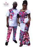 Fashion Women Mermaid Skirt Sets Brand African Couples Clothing Casual Pant Sets