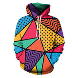 3D Men Hoodie Fashion Clothes Hip Hop Style Patchwork Sweatshirt Plus Size 5XL Unisex