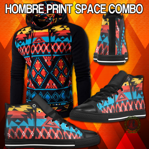 Hombre Print Space Edition Combo