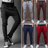 Men Casual Pants Cool Design Moletom Big Pocket Top Mens Joggers 8 Colors