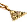 Image of New Arrival Gold Illuminati Eye Of Horus Egyptian Pyramid With 23.6 Inch