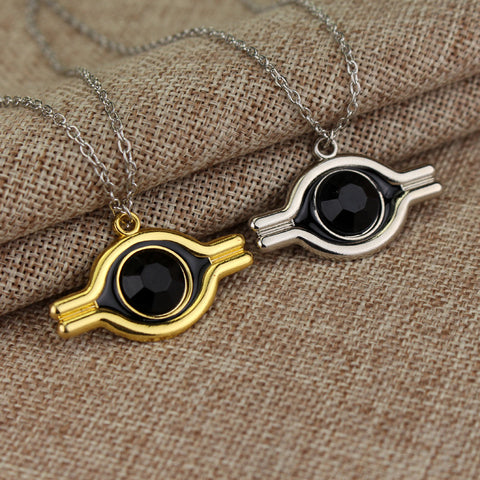 New Products The Eye Of Horus Gold And Silver Plated Pendant Necklace