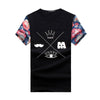Image of Plus Size 5XL Men T shirt Fashion Printing Sleeves T-shirts Summer Cotton Short-sleeve