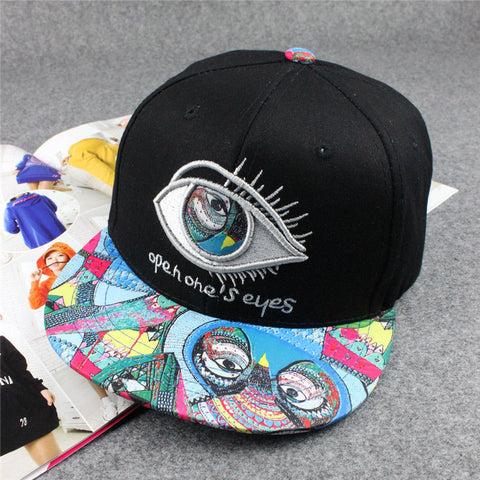 Bone Masculino NEW Quality Unisex Fashion Brand Man Hip Hop Eyes
