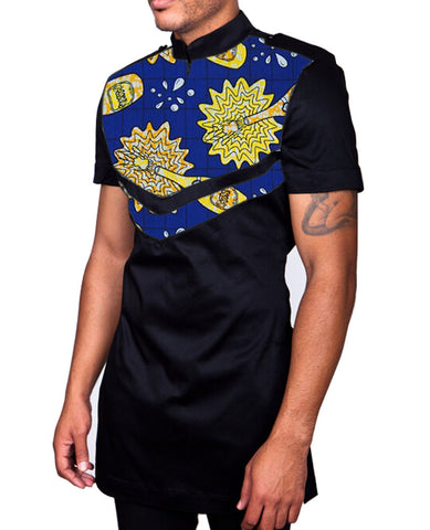 Unique African mens tops made to measure men