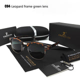 New Polarized Sunglasses Men/Women Retro Rivet High Quality