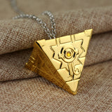 Egytian Pyramid Egyptian The Eye Of Horus Chain necklace Cuban Curb Hip Hop Necklace Jewelry 2 Colors