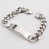 Image of FREE AAA+Never Fade!!  Stainless Steel ID Bracelets Men