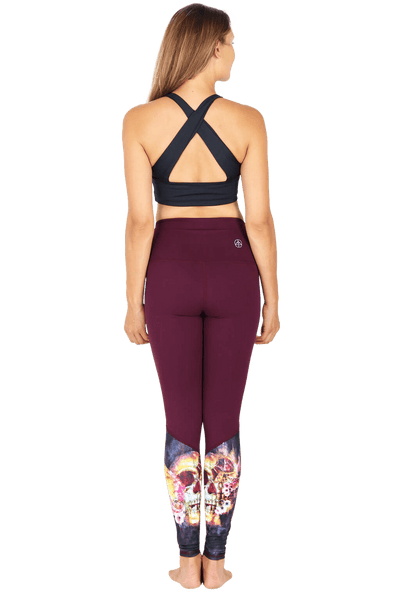 yoga Leggings by Yogavated Athletic Apparel Evolve Realign Legging
