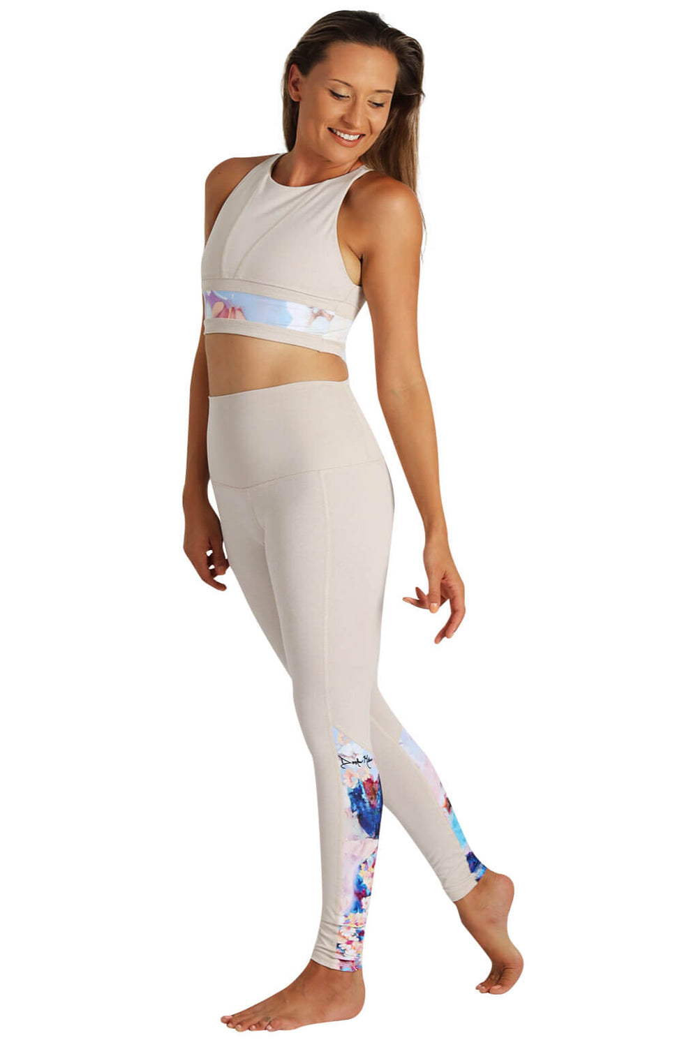 Yoga Leggings by Yogavated Athletic Apparel Reflect Realign Legging
