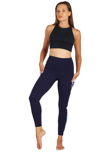 Yoga Leggings by Yogavated Athletic Apparel Reflect Impression Legging