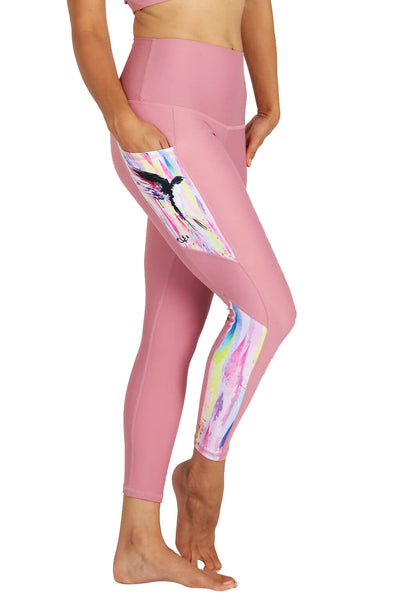 Yoga Leggings by Yogavated Athletic Apparel Duality Impression Legging