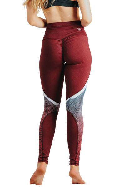 Yoga Leggings by Yogavated Athletic Apparel Vortex Key Legging