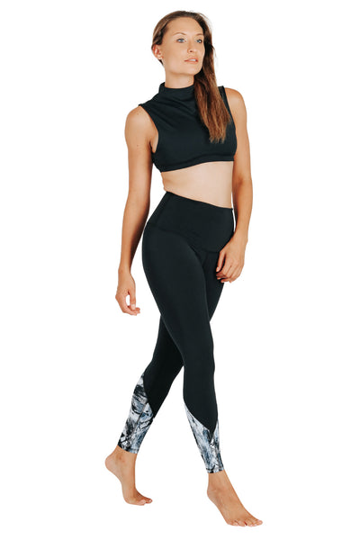 Yoga Leggings by Yogavated Athletic Apparel Electrify Point Leggings
