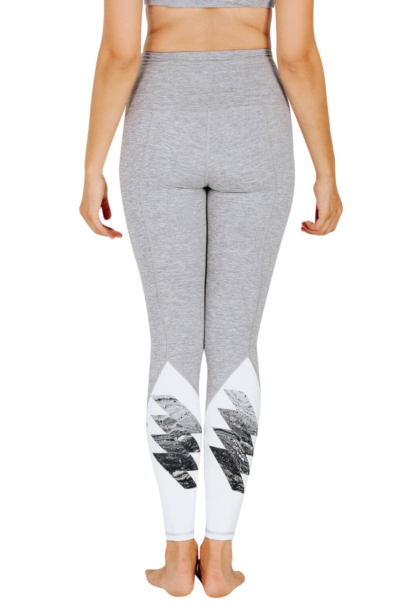 Yoga Leggings by Yogavated Athletic Apparel Magnetic Point Leggings