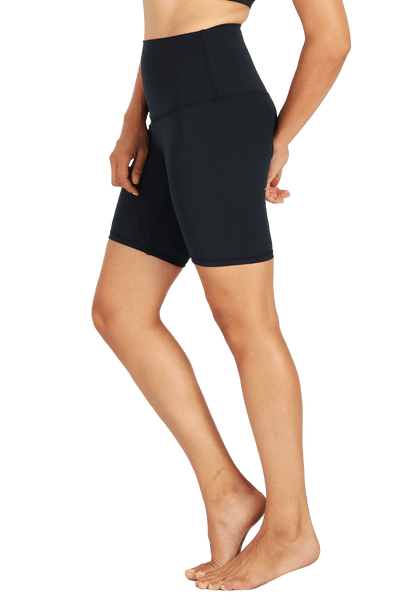 yoga Shorts by Yogavated Athletic Apparel Evolve Slick Biker Short