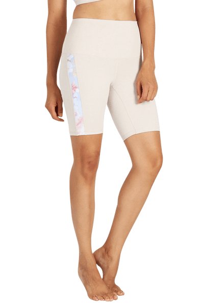 yoga Shorts by Yogavated Athletic Apparel Reflect Slick Biker Short
