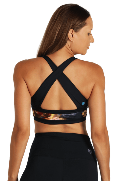 yoga Sports Bra by Yogavated Athletic Apparel Evolve Reversible Yogavator Bra