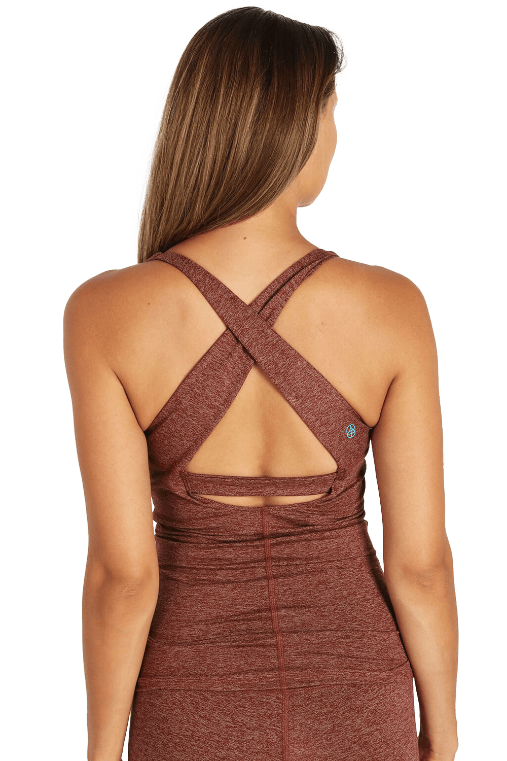 Yogavated Athletics yoga sports bra tank top