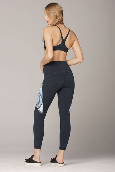 yoga Leggings by Yogavated Athletic Apparel Amazonite Alt-J Legging