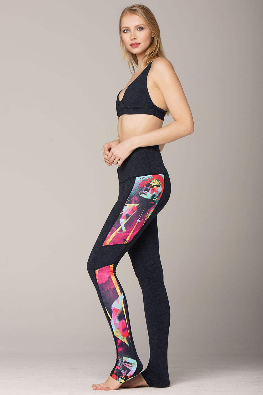 yoga Leggings by Yogavated Athletic Apparel Attainment Reflection Legging