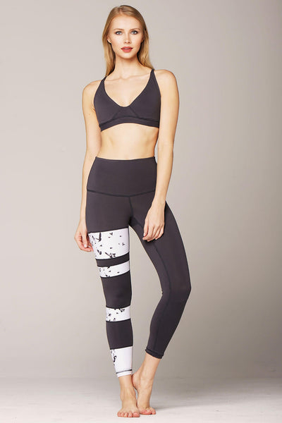 yoga legging by Yogavated Athletic Apparel Balance Right Legging