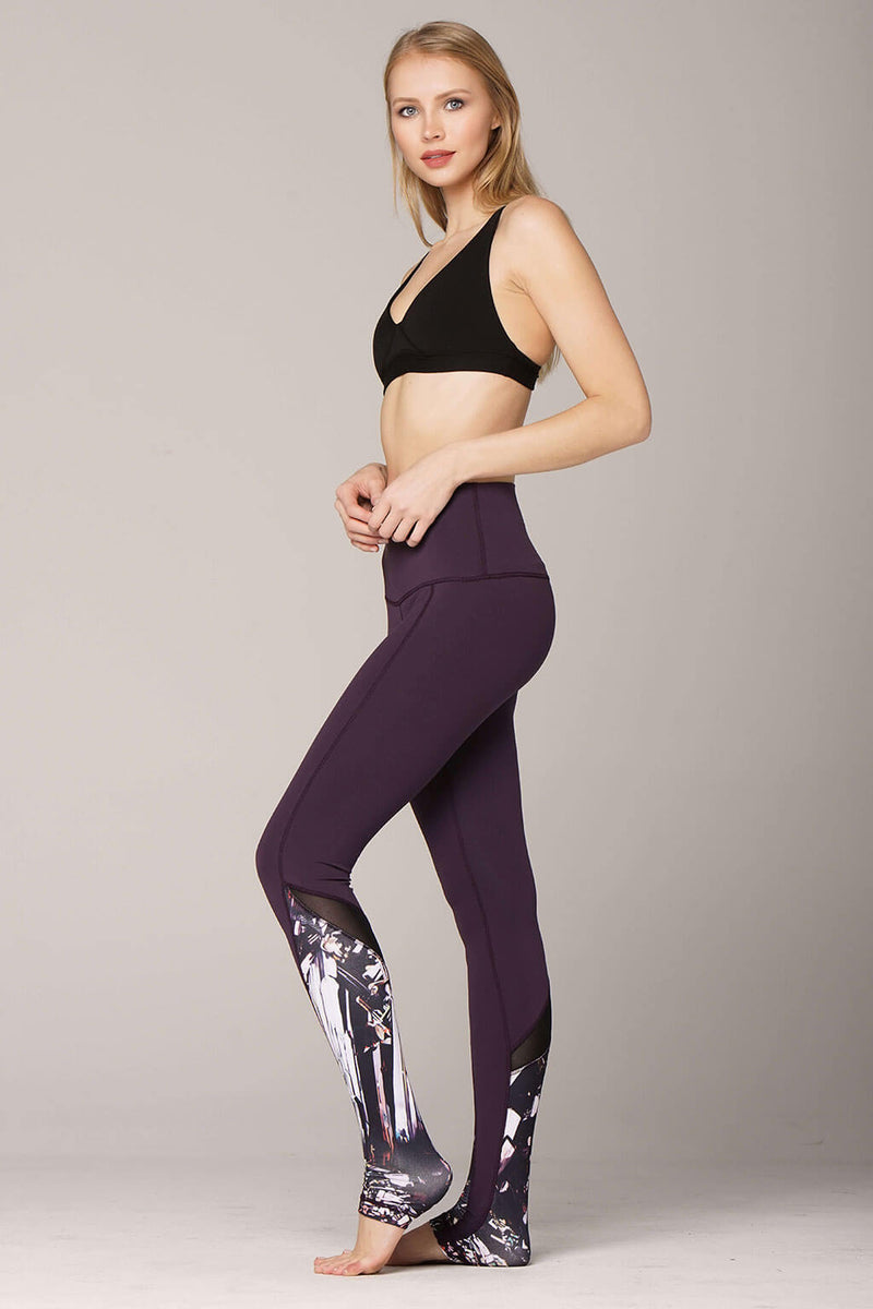 yoga Leggings by Yogavated Athletic Apparel Epidote Luxe Legging