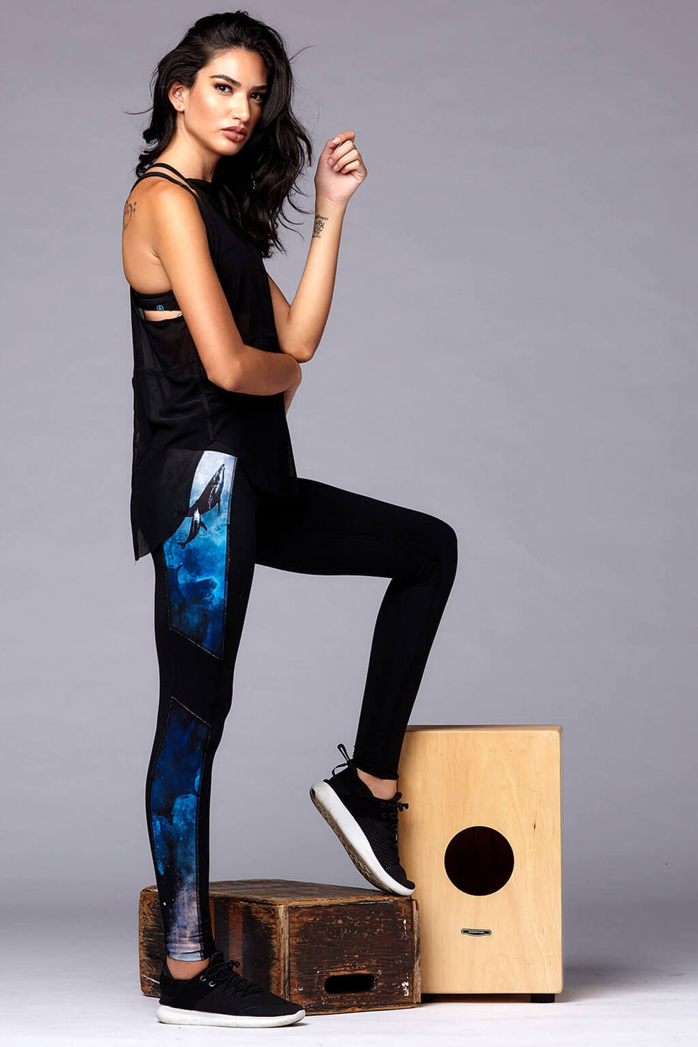 yoga Leggings by Yogavated Athletic Apparel Guidance Reflection Legging