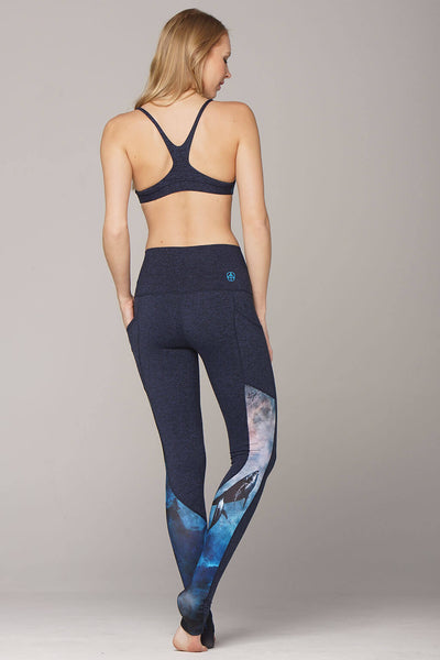 yoga Leggings by Yogavated Athletic Apparel Guidance Swoosh Legging