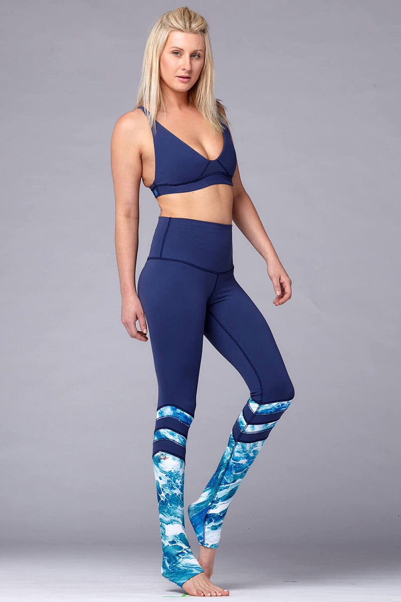 yoga Leggings by Yogavated Athletic Apparel Kinetic Rise Legging