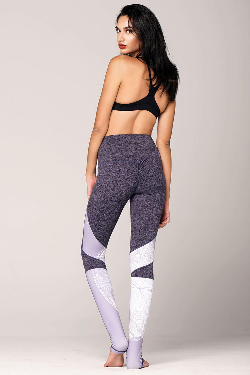 yoga Leggings by Yogavated Athletic Apparel Knowledge Power Legging