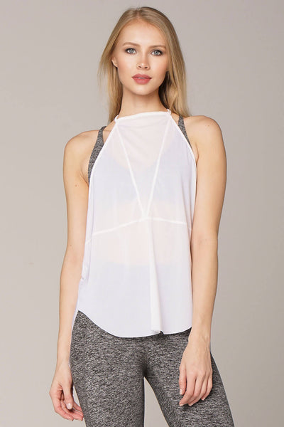 Yoga Tops by Yogavated Athletic Apparel Muse Mesh Tank