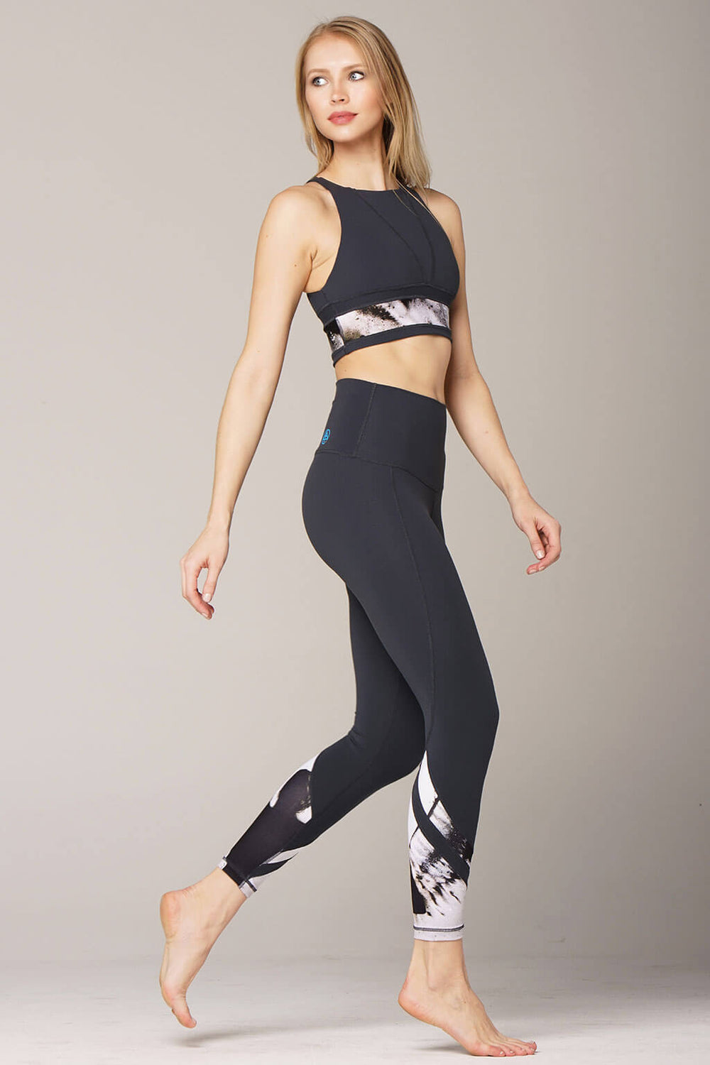 yoga legging by Yogavated Athletic Apparel Oracle Axial Legging
