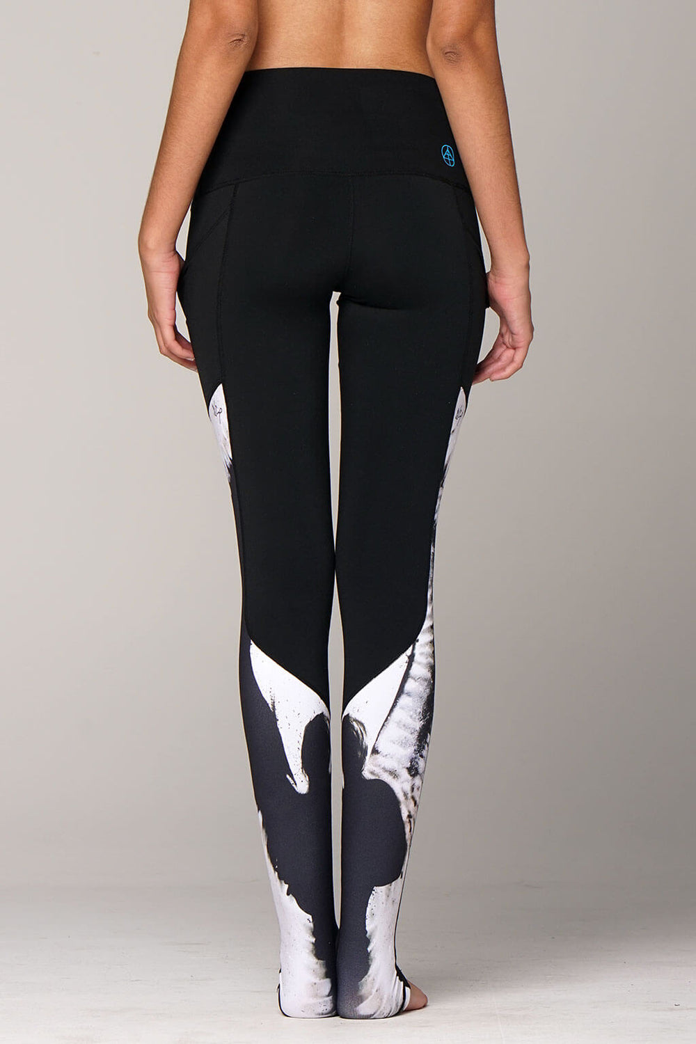 yoga Leggings by Yogavated Athletic Apparel Oracle Swoosh Legging