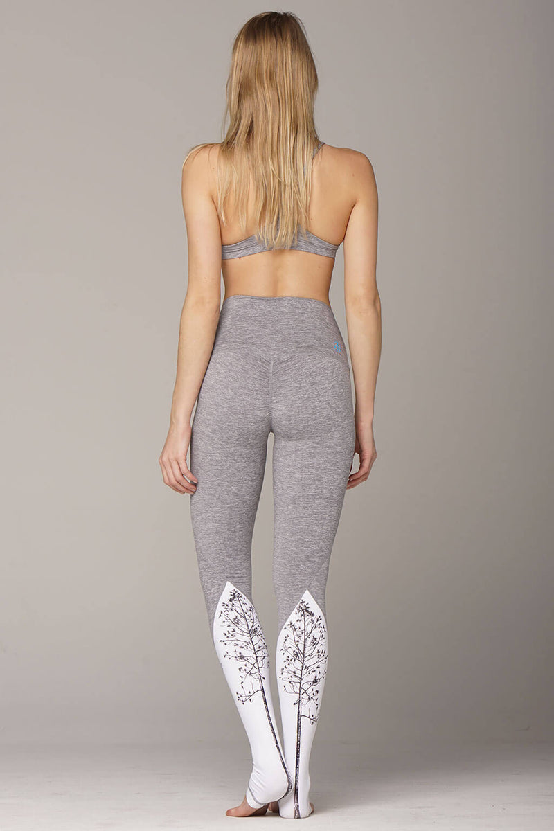 yoga legging by Yogavated Athletic Apparel Rooted Peak Legging