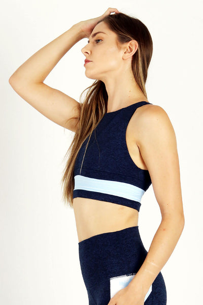 yoga Sports Bra by Yogavated Athletic Apparel Stroke Reversible Yogavator Bra